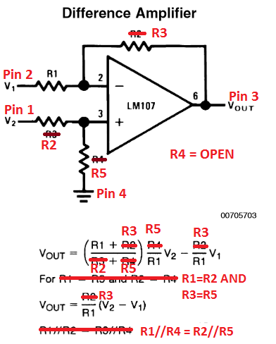 Differential Amplifier Mapping